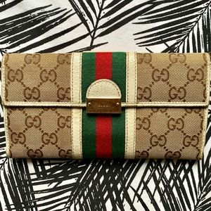 Gucci Stripe Wallet